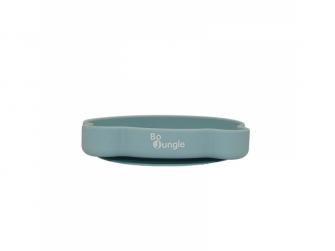silikonový talíř s přísavkou Bear Pastel Blue 5