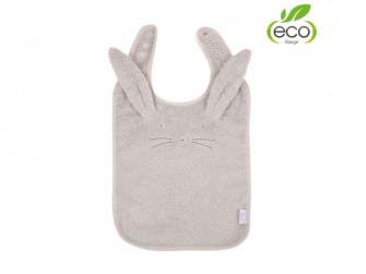 bryndáček B-Bib ECO Grey Rabbit