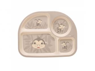 kukuřičná jídelní sada B-Dinner Monkey Grey 2