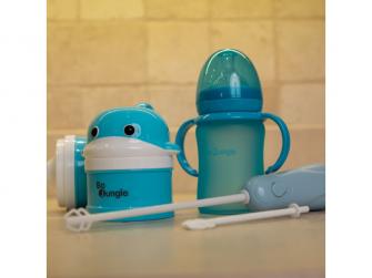mixér na sušené mléko B-Powder Mixer Pastel Blue 5