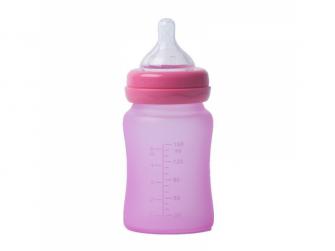 skleněná láhev B-Thermo 150ml Pink