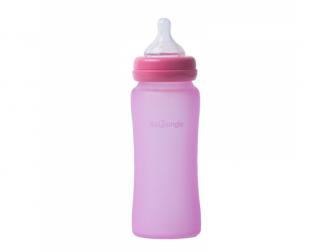 skleněná láhev B-Thermo 300ml Pink 2