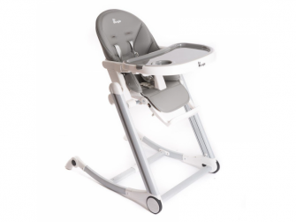 jídelní židlička B-HIGH CHAIR Grey