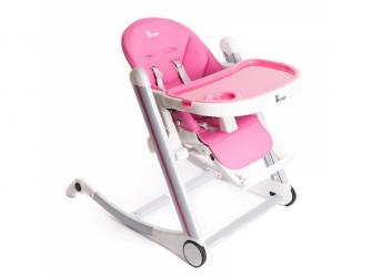 jídelní židlička B-HIGH CHAIR Pink 2