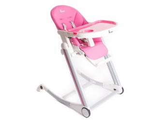 jídelní židlička B-HIGH CHAIR Pink