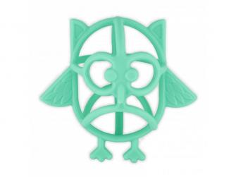 silikonové kousátko B-Owl Silicone Blue 2