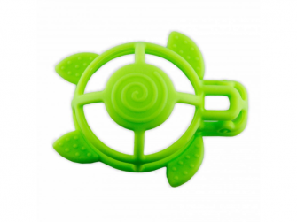 silikonové kousátko B-Turtle Green 2