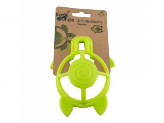 silikonové kousátko B-Turtle Green 3