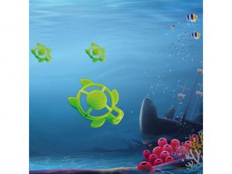 silikonové kousátko B-Turtle Green 5