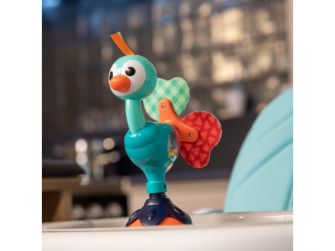 Hračka s přísavkou Cute Peacock 5