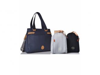 RICHMOND navy - kabelka i přebalovací taška 3