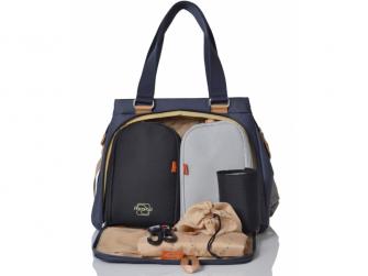 RICHMOND navy - kabelka i přebalovací taška 2