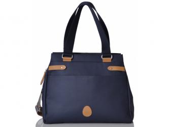 RICHMOND navy - kabelka i přebalovací taška