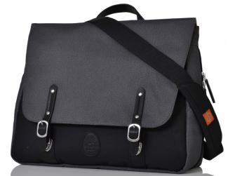 c1b0f1c0de PacaPod PRESCOTT šedočerná - přebalovací taška i batoh