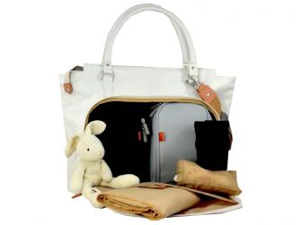 MIRANO modrá - kabelka i přebalovací taška 2