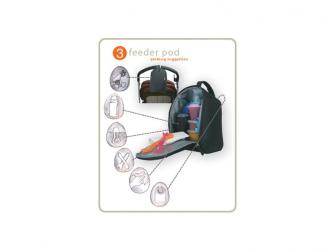 MIRANO modrá - kabelka i přebalovací taška 5