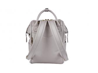 Přebalovací taška-batoh Mani, Grey Blush Leatherette 3