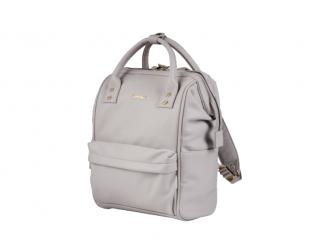 Přebalovací taška-batoh Mani, Grey Blush Leatherette 4