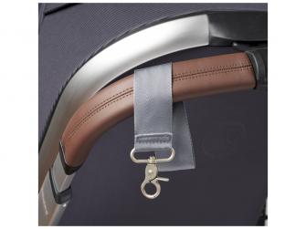 Přebalovací taška-batoh velká Erin, Grey Marl 12