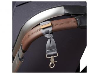 Přebalovací taška-batoh velká Erin, Grey Marl 13