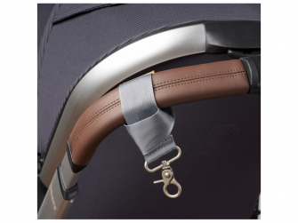 Přebalovací taška-batoh velká Erin, Grey Marl 14