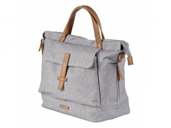 Přebalovací taška-batoh velká Erin, Grey Marl 4