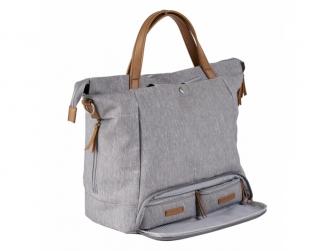 Přebalovací taška-batoh velká Erin, Grey Marl 5