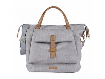 Přebalovací taška-batoh velká Erin, Grey Marl