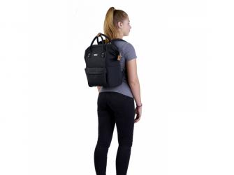Přebalovací taška-batoh Mani, Black 6