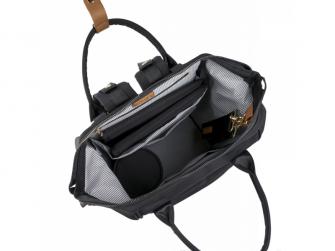 Přebalovací taška-batoh Mani, Black 7