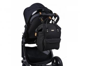 Přebalovací taška-batoh Mani, Black 8