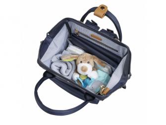 Přebalovací taška-batoh Mani, Navy Blue 7