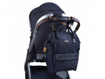 Přebalovací taška-batoh Mani, Navy Blue 8