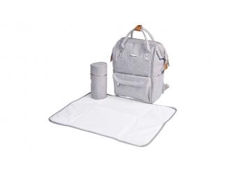 Přebalovací taška-batoh Mani Grey Marl 6