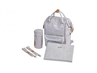 Přebalovací taška-batoh Mani Grey Marl 5