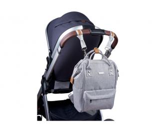 Přebalovací taška-batoh Mani Grey Marl 4