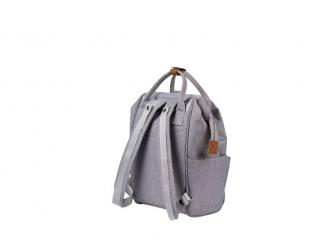 Přebalovací taška-batoh Mani Grey Marl 3