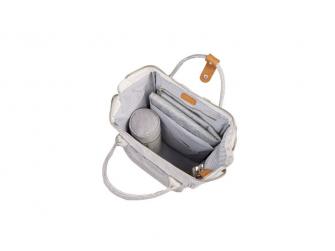 Přebalovací taška-batoh Mani Grey Marl 7