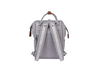 Přebalovací taška-batoh Mani Grey Marl 2