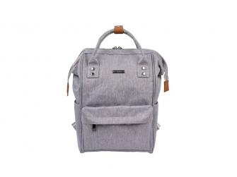 Přebalovací taška-batoh Mani Grey Marl