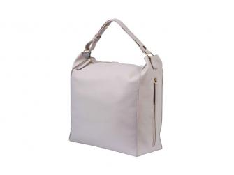 Přebalovací taška-batoh Lucia Grey Blush Leatherett