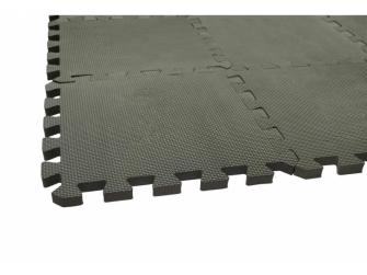 Hrací podložka puzzle Dusty Grey 90x90 cm 3