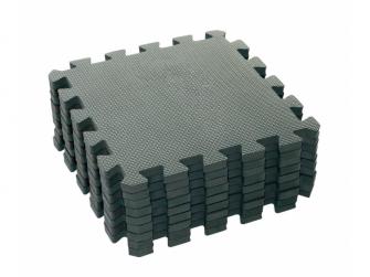 Hrací podložka puzzle Dusty Grey 90x90 cm 4