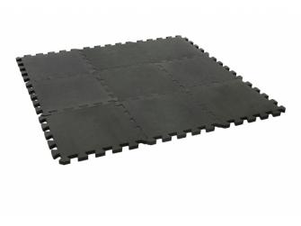 Hrací podložka puzzle Dusty Grey 90x90 cm 2