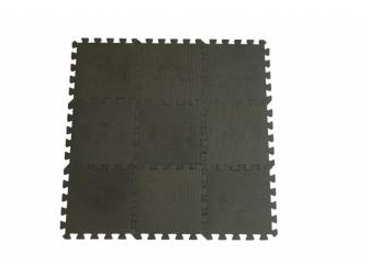 Hrací podložka puzzle Dusty Grey 90x90 cm
