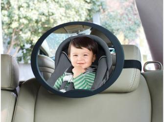 Nastavitelné zpětné zrcadlo do auta 2