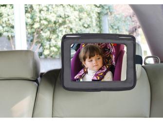 Držák tabletu a baby zrcadlo do auta, Lux Grey 2