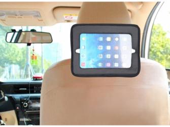 Držák tabletu a baby zrcadlo do auta, Lux Grey 3