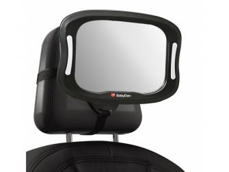 Nastavitelné zpětné zrcadlo do auta s LED osvětlením 2