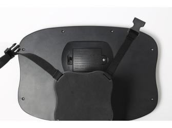 Nastavitelné zpětné zrcadlo do auta s LED osvětlením 4